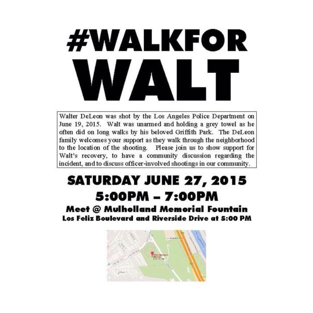 Sarah Oestreich: #WalkforWalt