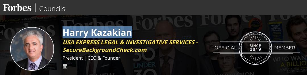 Forbes Councils: Harry Kazakian